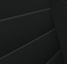 Grafiithalli värvi kunstnahaga kombineeritud nahast istmekatted